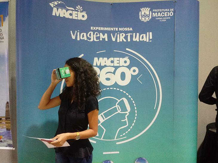 Participantes do Congresso em Goiânia conhecem os atrativos por meio do Maceió 360º