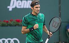 O tenista suíço Roger Federer