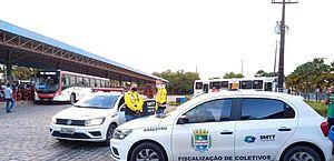 Covid-19: SMTT segue fiscalizando o transporte público