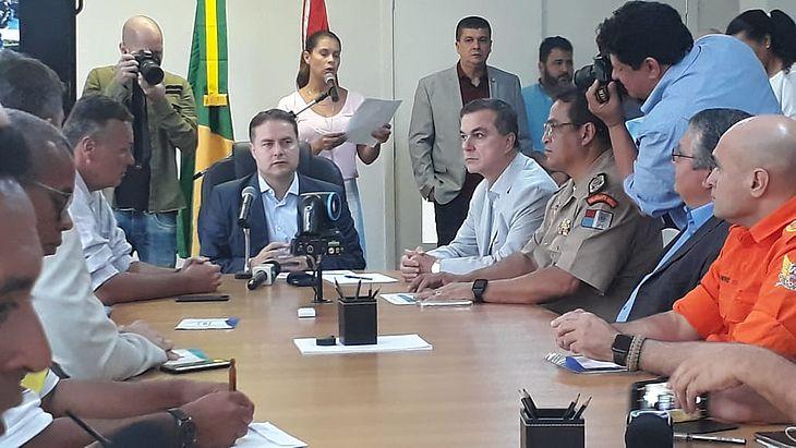 Os dados foram divulgados durante entrevista coletiva no Palácio do Governo