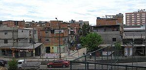 Comunidade de Manguinhos no Rio de Janeiro