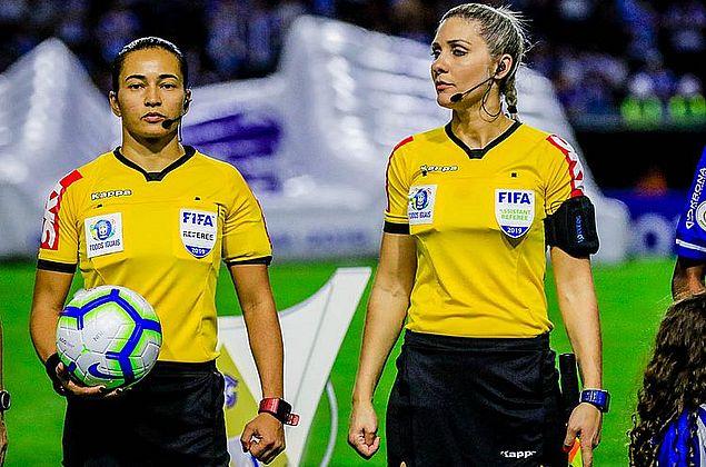 Fifa oficializa Edina Alves como árbitra na Olimpíada; Reway será VAR
