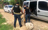 Polícia penal intercepta motorista em Riacho Doce e encontra 40 kg de maconha em carro
