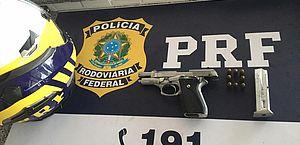 PRF prende homem por porte ilegal de arma de fogo em União dos Palmares/AL