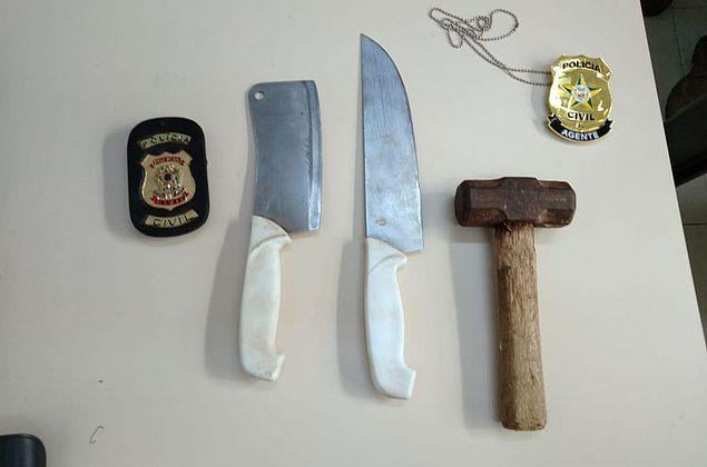Polícia e Bombeiros encontram em açude armas utilizadas na morte de adolescente