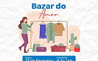 Instituto Amor 21 realiza Bazar do Amor no próximo sábado
