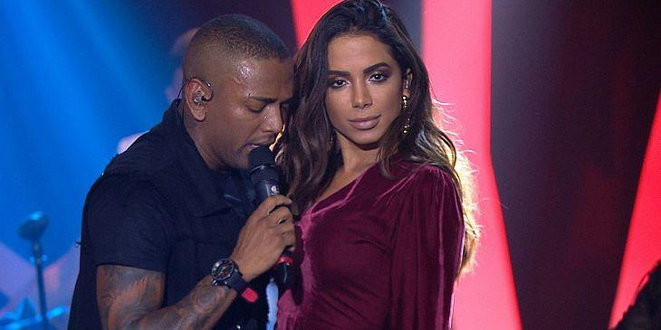 Nego do Borel foi o convidado da cantora para ensaio do Bloco das Poderosas