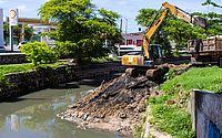 Prefeitura recolhe mais de mil toneladas de lixo na foz do Riacho Salgadinho
