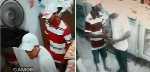 Vídeo: dois homens roubam panificação em Maceió e crime é registrado por câmeras