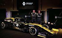 Com Ricciardo, Renault lança carro e projeta incomodar os grandes em 2019