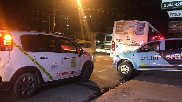 Briga entre passageiros de ônibus terminou em morte