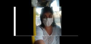 Sandra Carla é técnica em enfermagem e trabalha em uma UTI