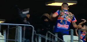 PM apura agressão contra torcedor acompanhado de criança na partida Fortaleza x Palmeiras