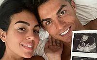 Cristiano Ronaldo anuncia que será pai de gêmeos: 'Corações cheios de amor'