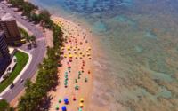 Maceió: praias livres de óleo e próprias para banho mantém turismo em alta