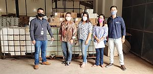 Empresa doa 3,6 toneladas de hipoclorito de sódio para combate ao coronavírus em Arapiraca