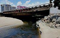 Ponte sobre o Riacho Salgadinho, na Avenida da Paz