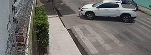Pai que quase atropela filho ao manobrar carro em Arapiraca compartilha vídeo e fala sobre livramento