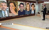 Jornalista da GloboNews fuma ao vivo durante jornal: 'Sinal tinha caído'
