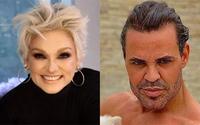 Eduardo Costa elogia beleza de Andréa Nóbrega em post sobre morte de ator: 'Linda'
