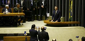 """""""Brasil precisa de quimioterapia para que não pereça"""", diz Bolsonaro"""