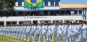Marinha divulga concurso com vagas para oficiais da Escola Naval