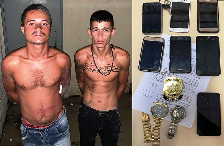 Suspeitos presos em Murici com moto roubada em Capela