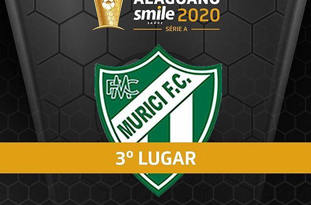 Murici vence o ASA por 2 a 0 e fica com o terceiro lugar do Campeonato Alagoano 2020