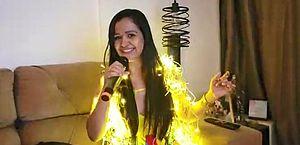 Vídeo da cantora foi postado por artistas e viralizou