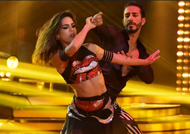 Dupla arrasou em programa de dança