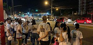 Um ano após morte de padeiro, família protesta e pede justiça