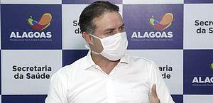 Governador Renan Filho anuncia prorrogação de isolamento social em Alagoas