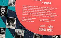 Imprensa Oficial Graciliano Ramos lança onze livros inéditos selecionados pelo Edital Para Publicação de Obras Literárias 2018