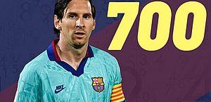 No detalhe: A anatomia dos 700 gols de Lionel Messi