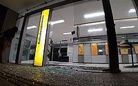 RN: vídeo mostra destruição em banco, ataque à delegacia e carro incendiado