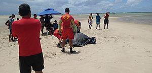 Corpo de mulher encontrado na Praia das Conchas continua no IML sem identificação