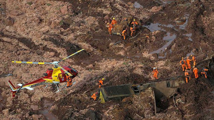 Resultado de imagem para Mortes em Brumadinho chegam a 84, mas número deve ser bem maior, diz PM