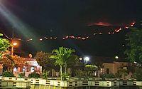 Incêndio atinge vegetação da Chapada Diamantina, na Bahia