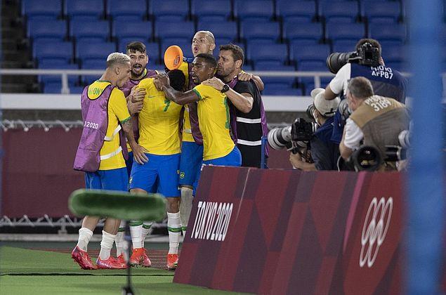 Brasil marca 4 na Alemanha no futebol masculino e poderia ter devolvido goleada de 2014
