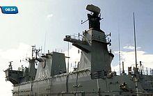 Navio de guerra é o maior da Marinha