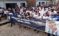Ato cobra justiça pela morte do menino Rhaniel Pedro; veja vídeo