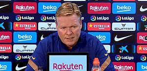 Técnico do Barcelona defende Messi e nega problemas com Griezmann