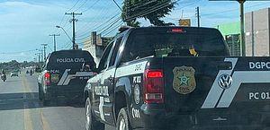 Deic prende homem no Jacintinho em apoio à Operação Xeque-Mate, da polícia de Sergipe
