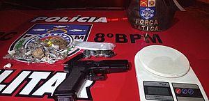Operações prendem 4 pessoas e apreendeem armas e drogas em Rio Largo e região