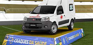 CBF doará 27 ambulâncias a hospitais públicos em jogos do Brasileirão