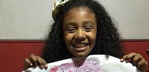 Menina foi morta com tiro nas costas