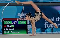 Alunas de ginástica rítmica de Maceió vão treinar com técnica da Seleção Brasileira