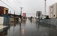 Volume de Chuva em Maceió já supera 70 milímetros em 24h, diz Sala de Alerta