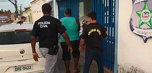 Adriano foi preso após denúncia anônima