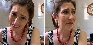 Beth Goulart chora com saudade da mãe, Nicette Bruno, um mês após morte: 'é difícil'